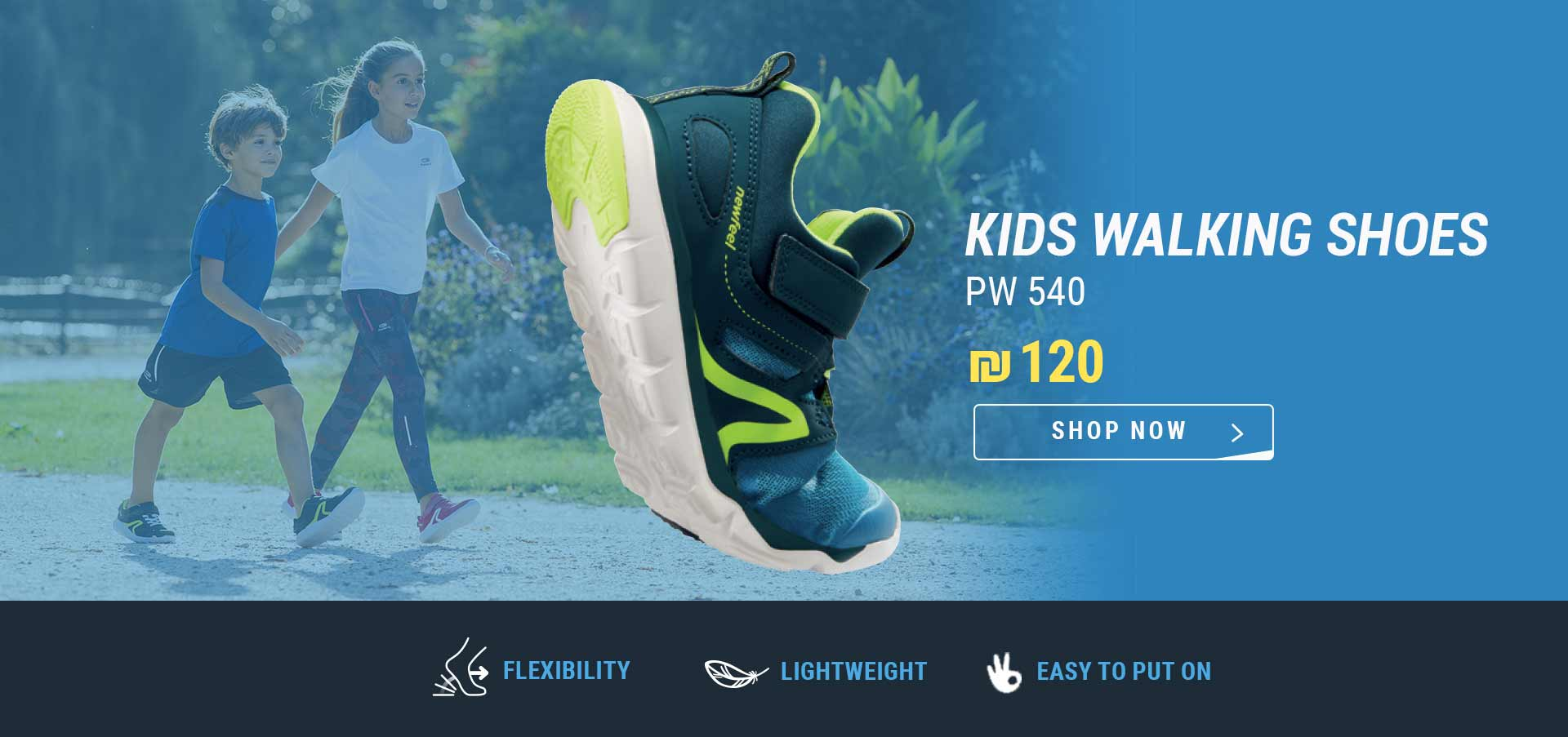 JUNIOR WALKING SHOES